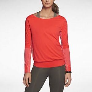 Nike Epic Neon Top Seamless Shirt Top Small